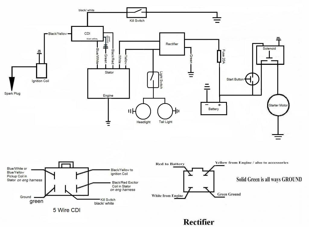 wiring diagram 5 wires as well pit bike wiring diagram on pit bike