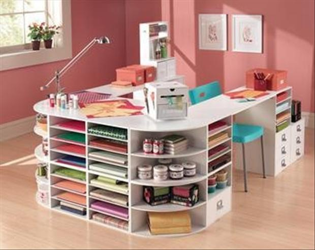 Craft desk storage ideas listitdallas craft solutioingenieria Images