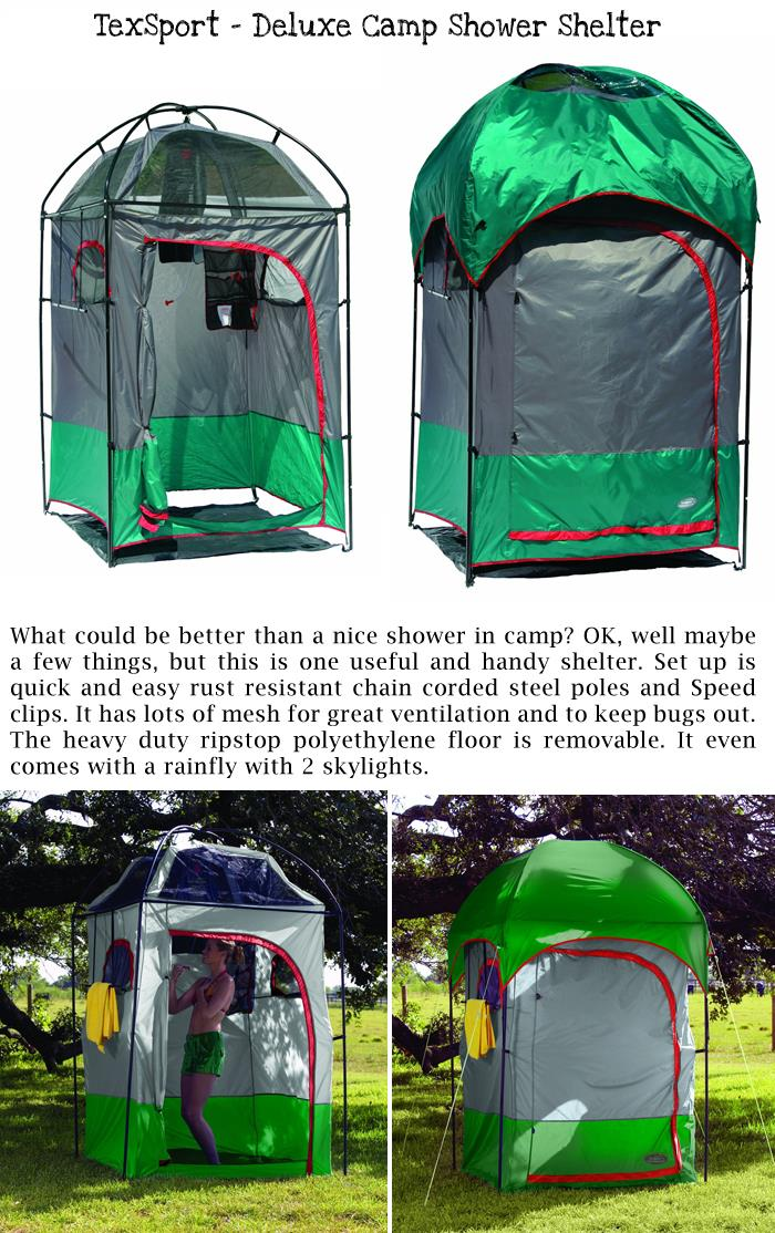 4 TexSport - Deluxe Camp Shower Shelter