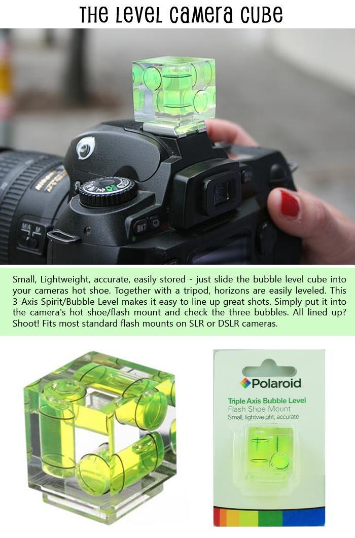 The Level Camera Cube