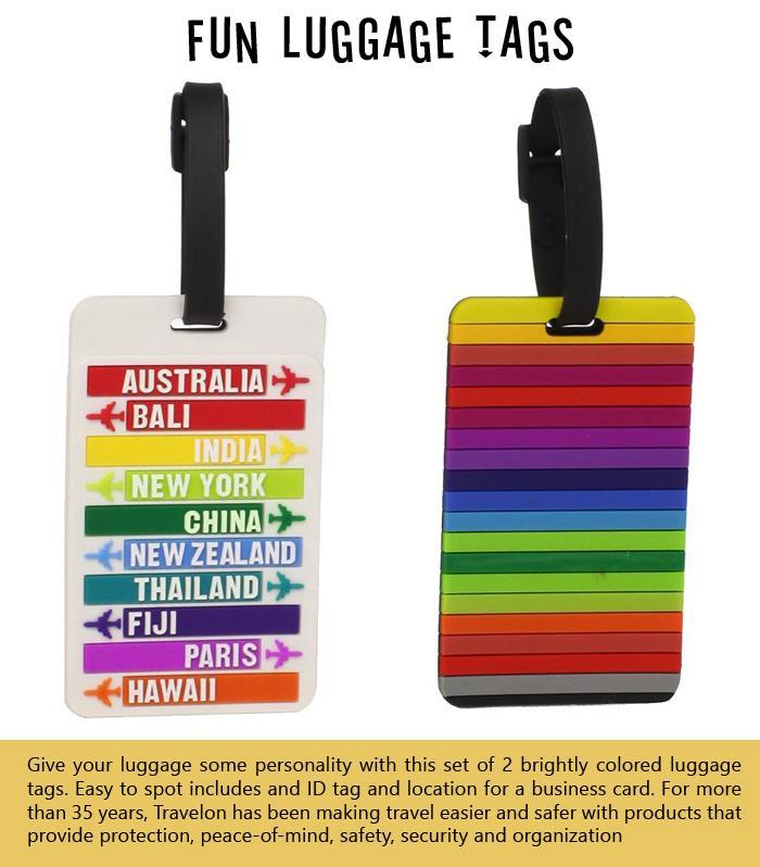 Fun Luggage Tags