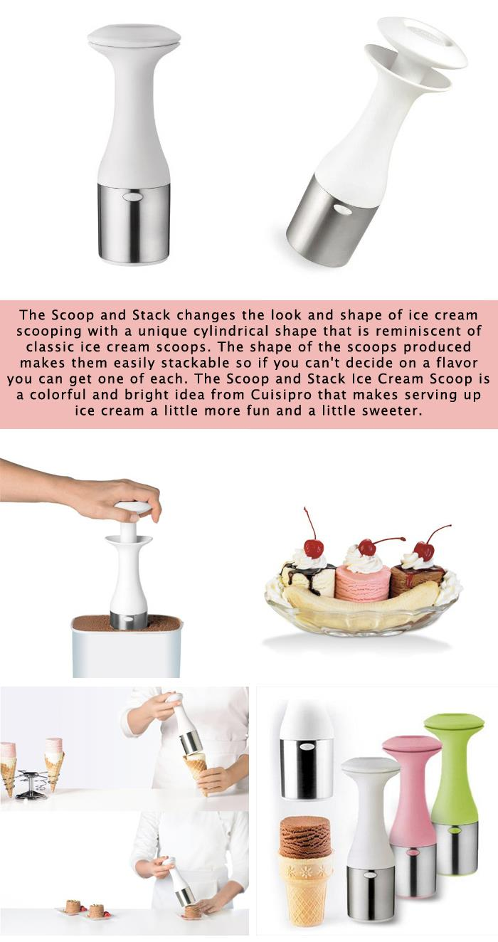 Ice Cream Scoop and Stack