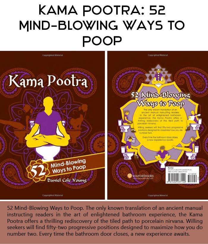 Kama Pootra 52 Mind-Blowing Ways to Poop