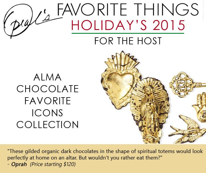 Oprah's Favorite Things - Alma Chocolate Favorite Icons Collection