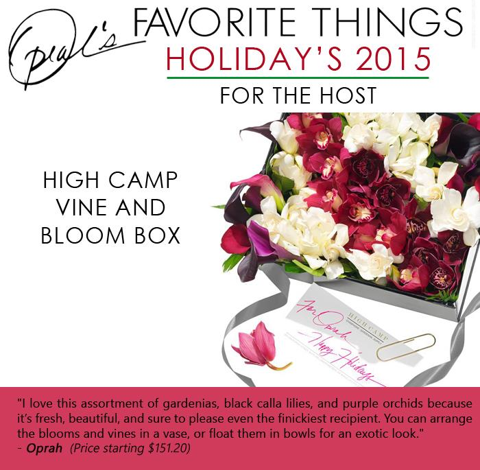 Oprah's Favorite Things- High Camp Vine and Bloom box