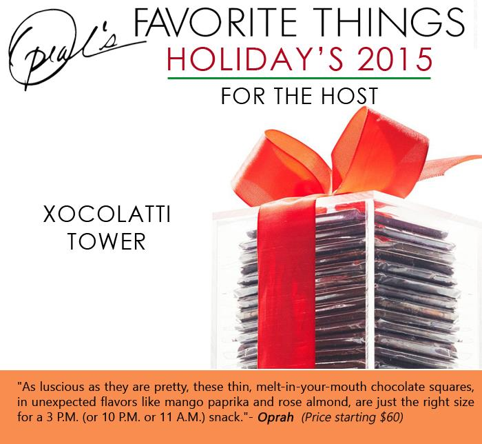 Oprah's Favorite Things - Xocolatti Tower