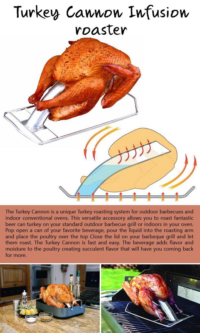Turkey Cannon Infusion roaster