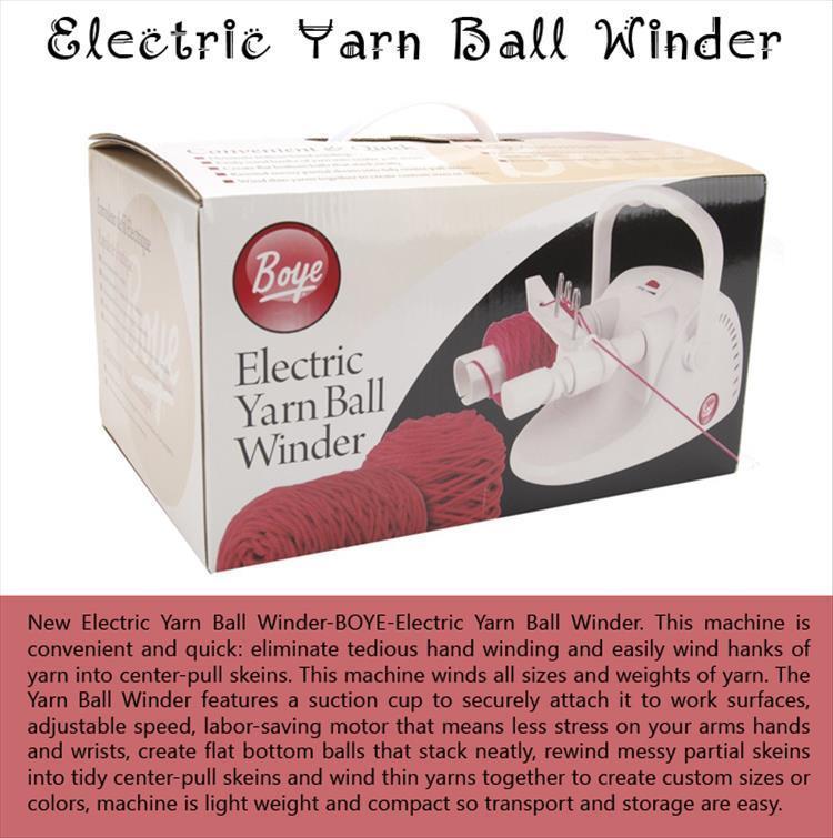 Electric Yarn Ball Winder
