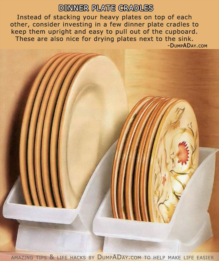 Dinner Plate Cradles