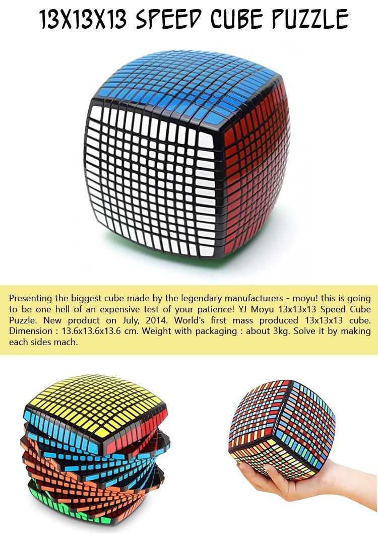 13x13x13 Speed Cube Puzzle