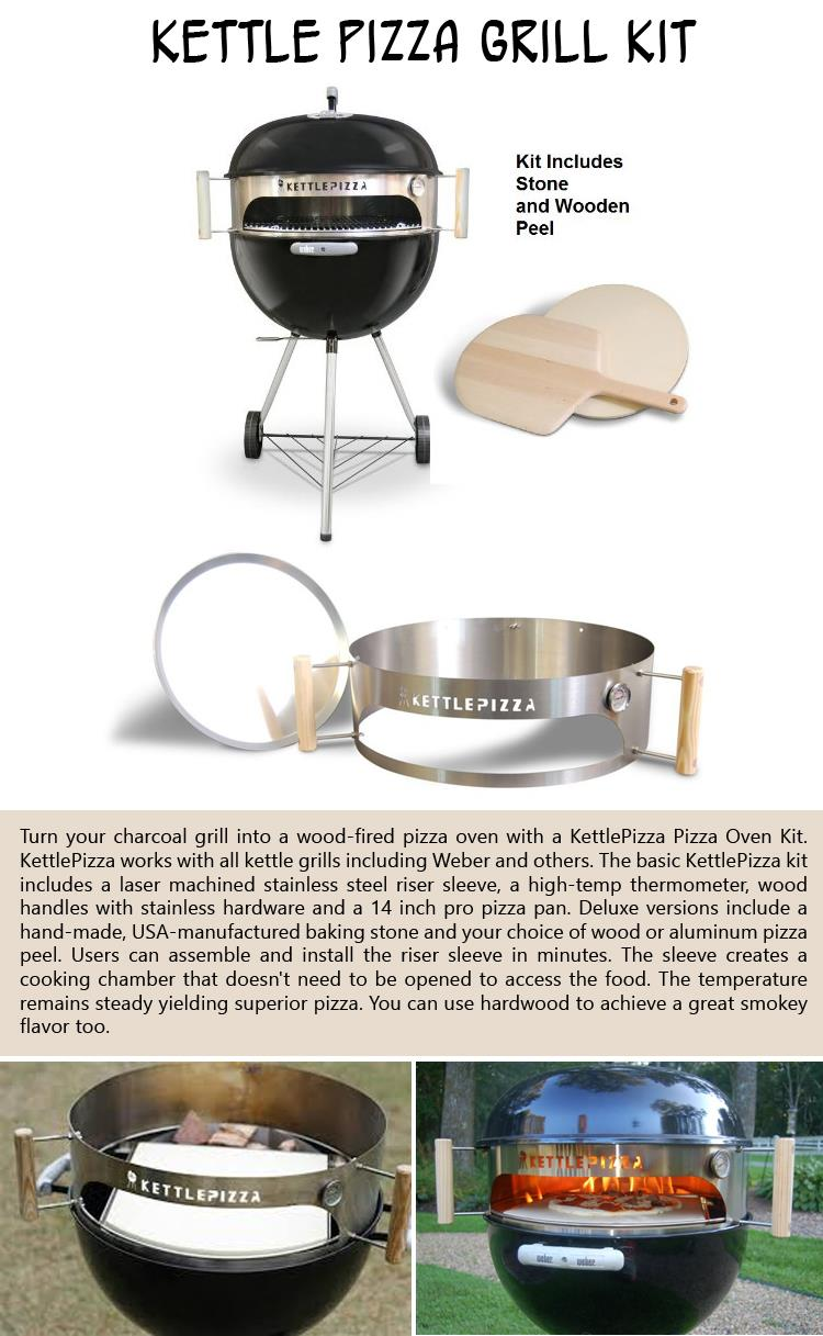 Kettle Pizza Grill Kit