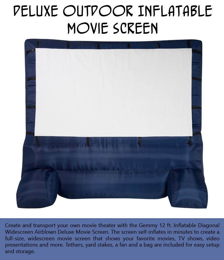 Deluxe Outdoor Inflatable Movie Screen
