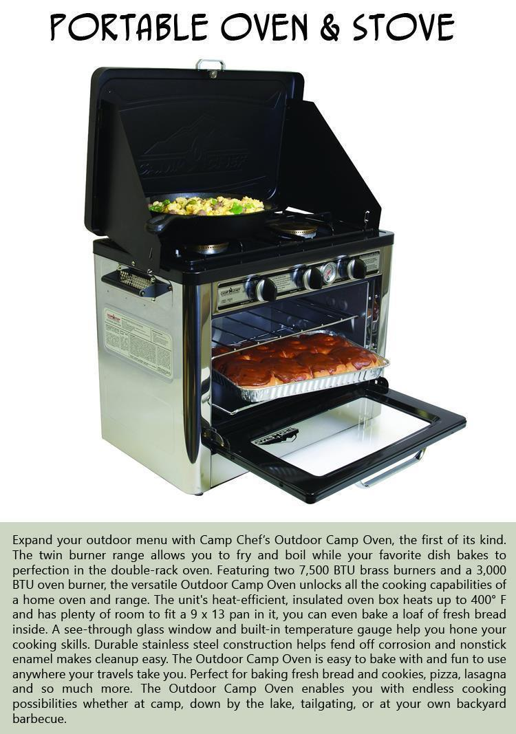 Portable Oven and Stove
