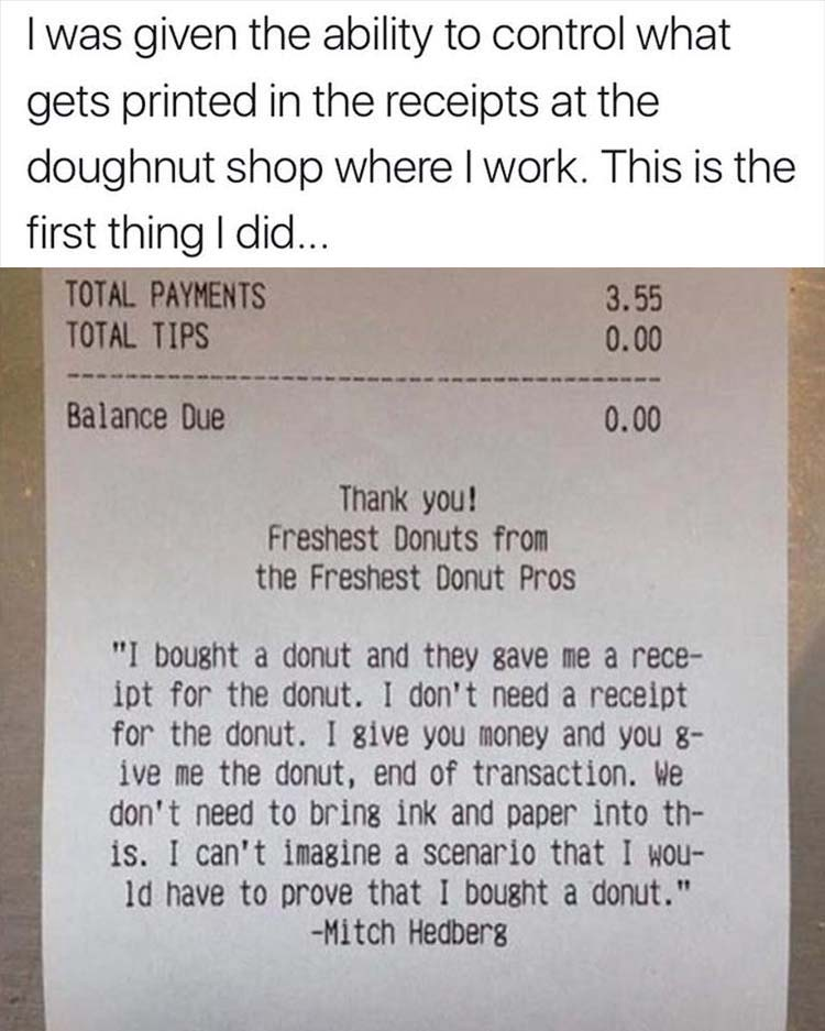 Funny Picture Dump Of The Day 37 Pics - money receipts