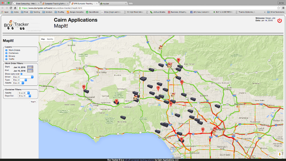 GPS Dumpster Tracking