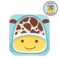 Skip Hop Zoo Melamine Plate and Bowl Set, Giraffe   Skip ...