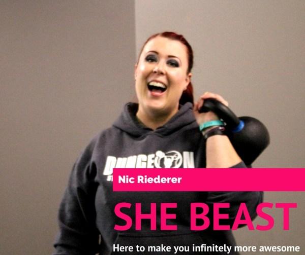 Nic Riederer twin cities trainer dsc she beast like a boss