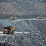 Aktivitas penambangan batubara PTBA.