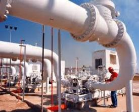 Infrastruktur gas domestik.