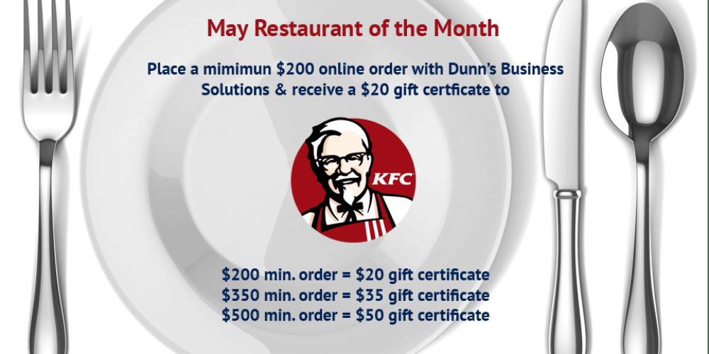 may restaurant
