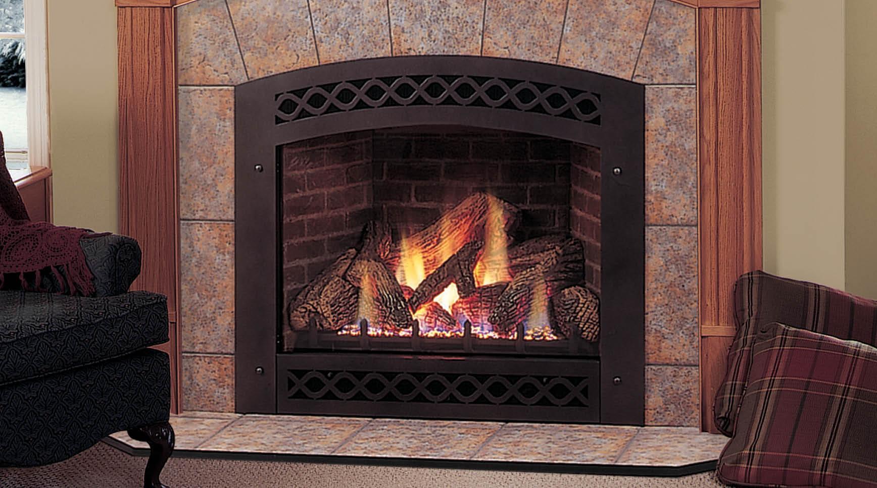Lexington Direct Vent Gas Fireplace