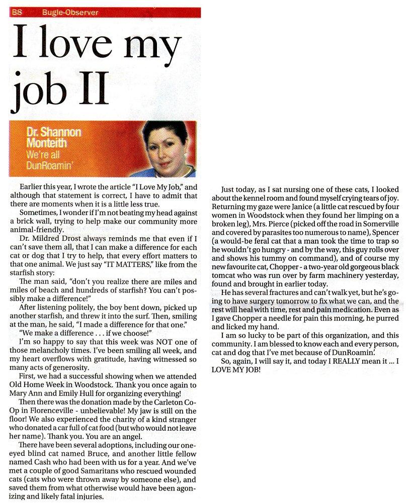 career article doc tk career article