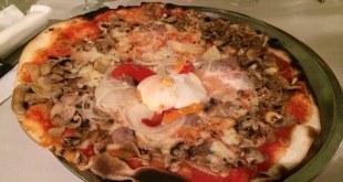 Odun fırın pizza