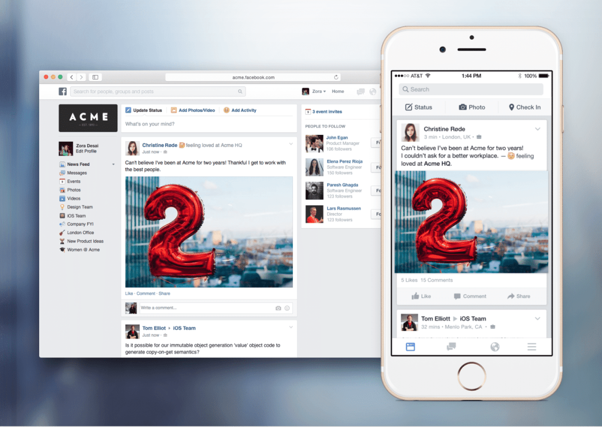 Facebook at Work : What to expect from it ?