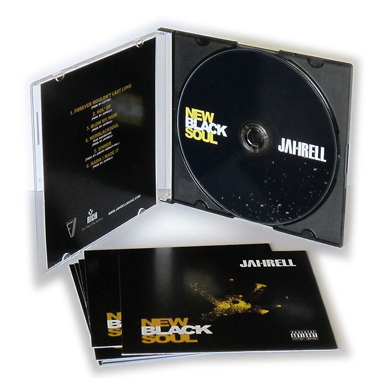 Promo CD Mixtape Cover Printing - CD Covers - Printing Services