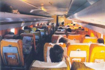 Electra era capaz de levar 90 passageiros com conforto para os padrões da época