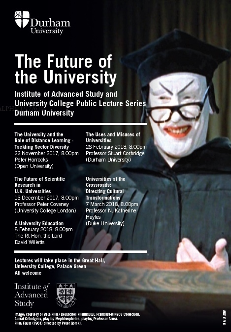 The Future of the University Public Lecture Series - The Future of - london universities list