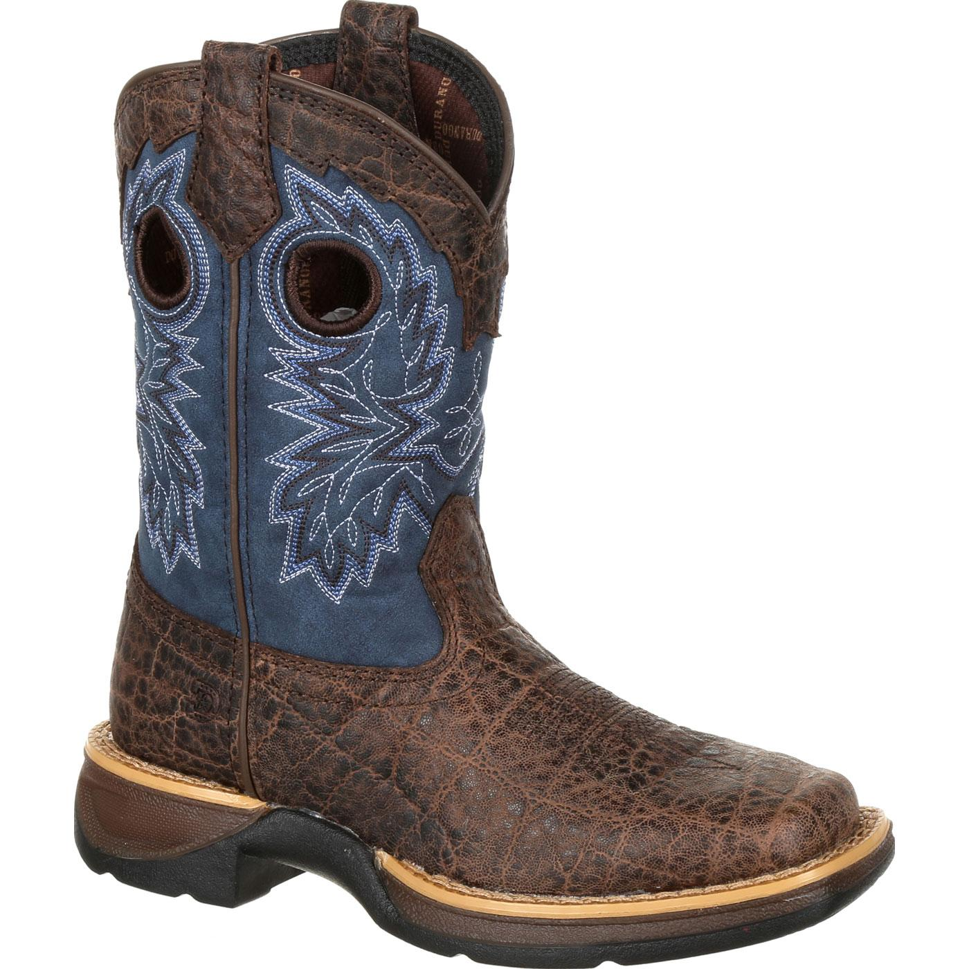 Lil39 Rebel By Durango Little Kids Faux Exotic Western Boot