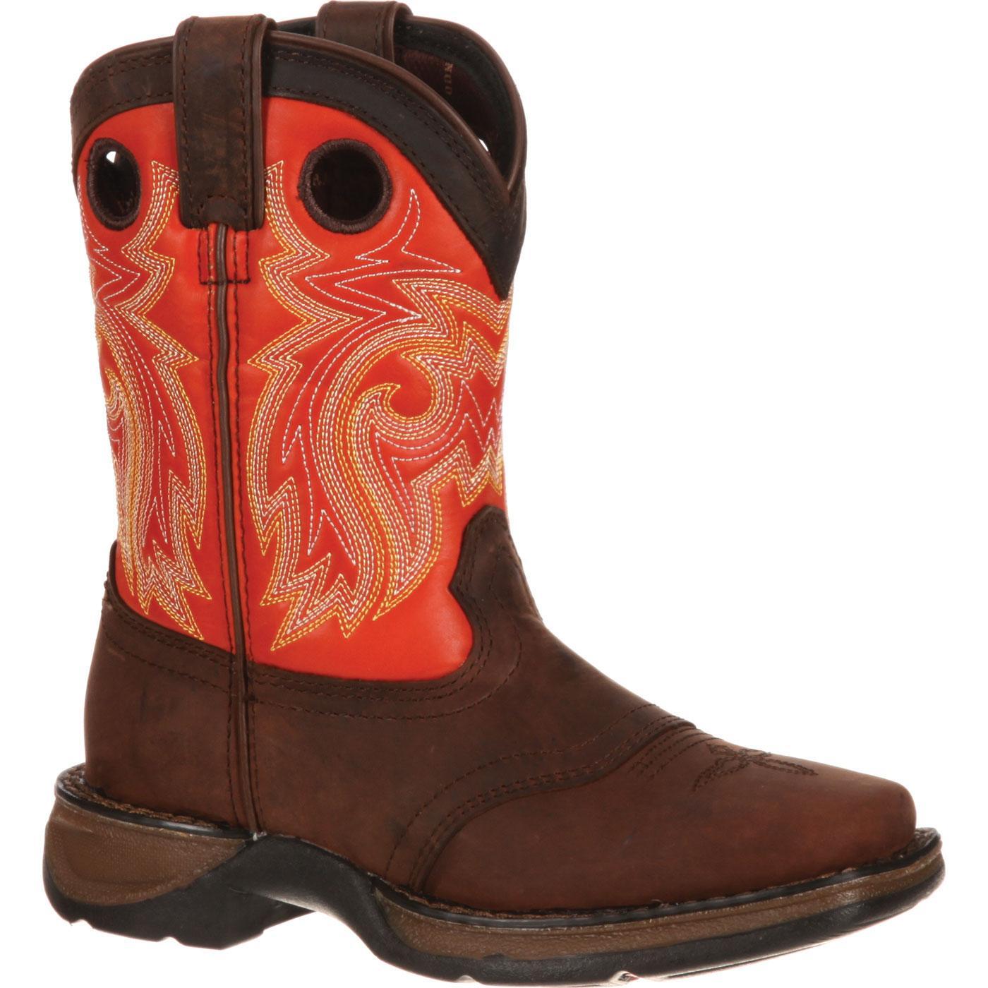 Lil39 Durango Youth Saddle Western Boot Dbt0114