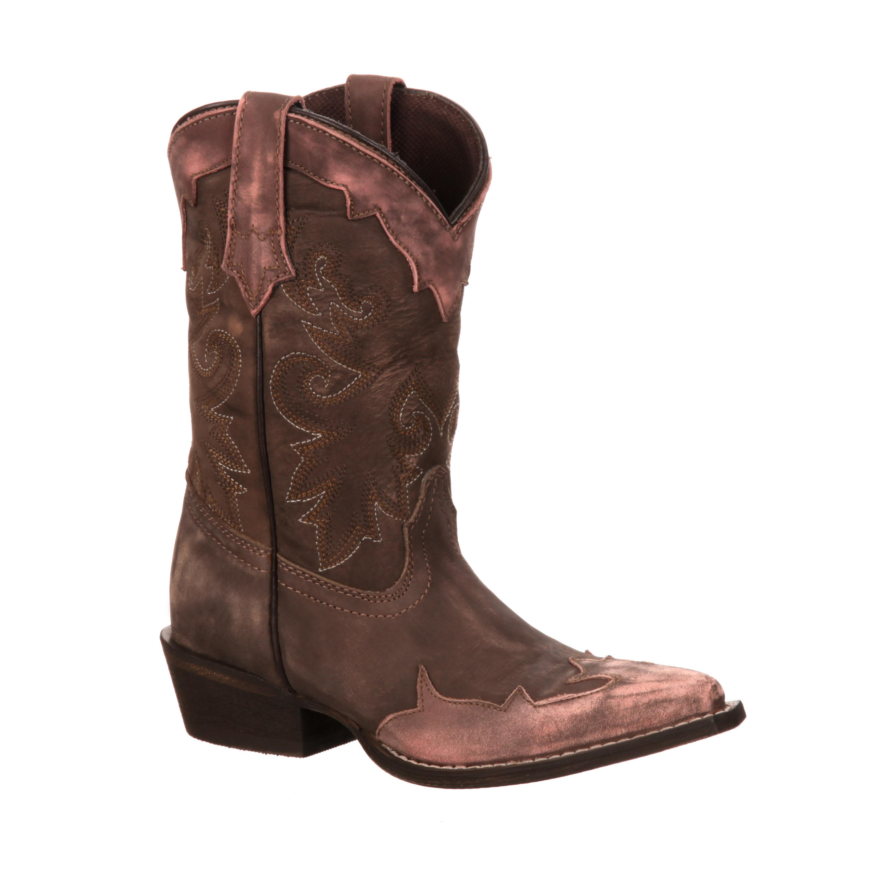 Lil39 Durango Adolescent Western Overlay Boots Dwbt038