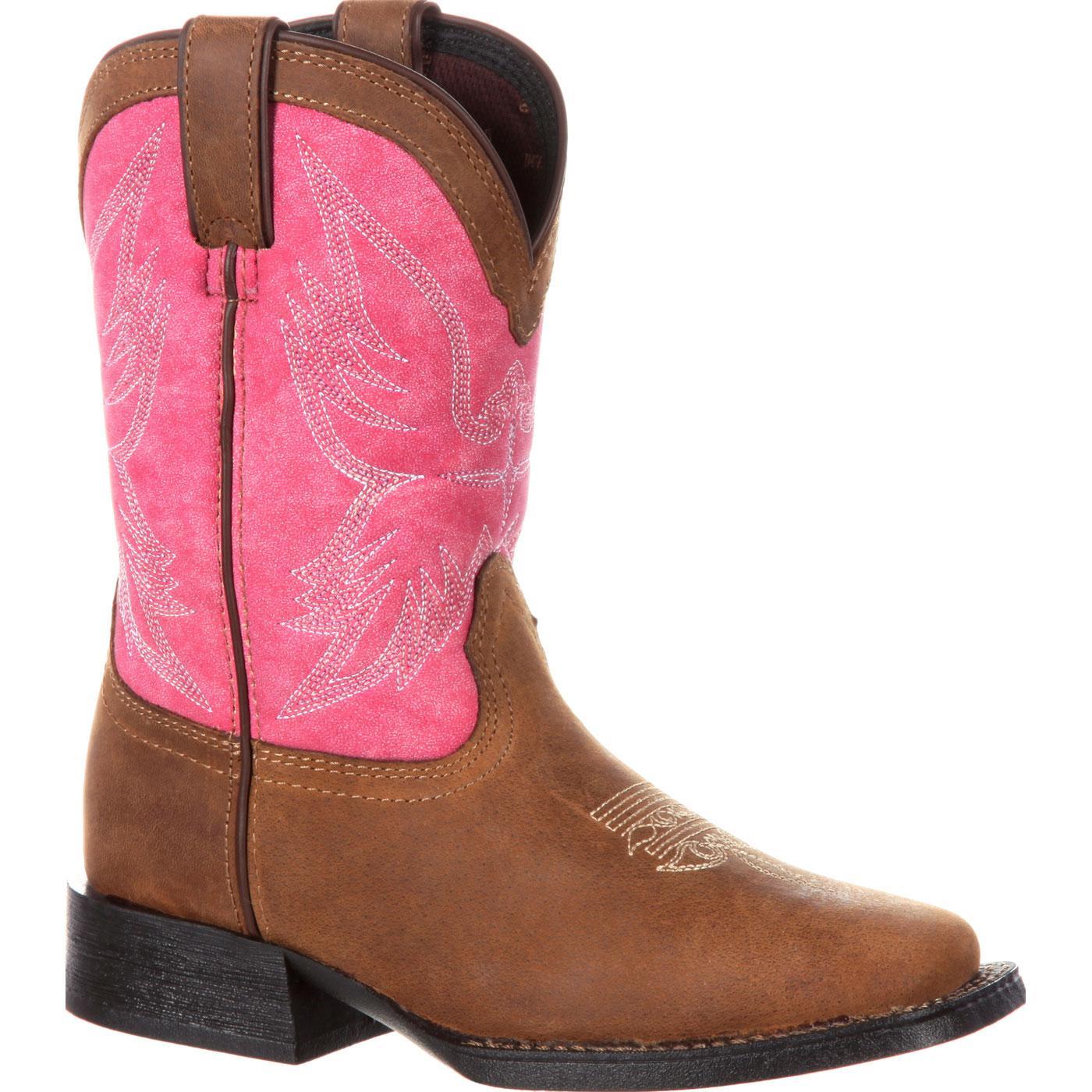 Durango Lil39 Mustang Big Kids39 Western Boot Dbt0168