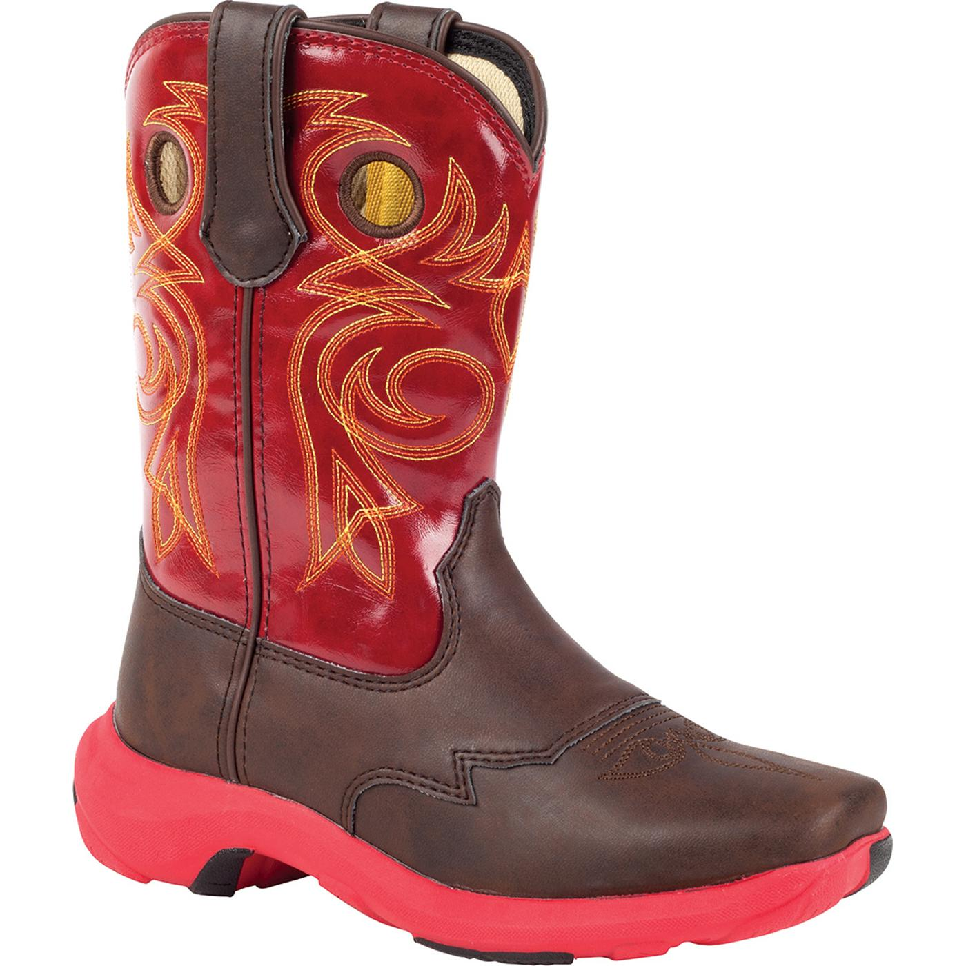 Lil39 Durango Kids39 Pull On Red Western Boots Bt014