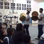 Hillside hosts drumline competition