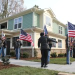 CASA housing development unveiled for eleven veterans experiencing homelessness
