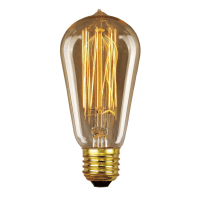 Elstead Lighting Vintage Decorative Edison Lamp E27 ES 60w