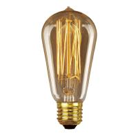 Elstead Lighting Vintage Decorative Edison Lamp E27 ES 60w ...