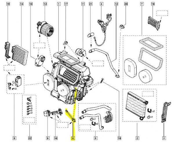 schema moteur dacia duster
