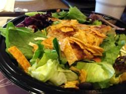 Pleasing Crispy Ken S Southwest Salad S Southwest Salad Mcdonald S Southwest Salad Review Mcdonald S Southwest Salad