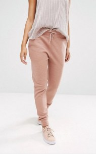 PANTALON DE SURVETEMENT MISSGUIDED ASOS ROSE