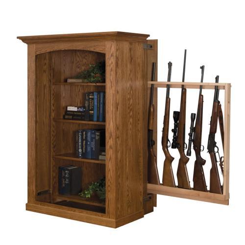 Medium Crop Of Hidden Gun Cabinet