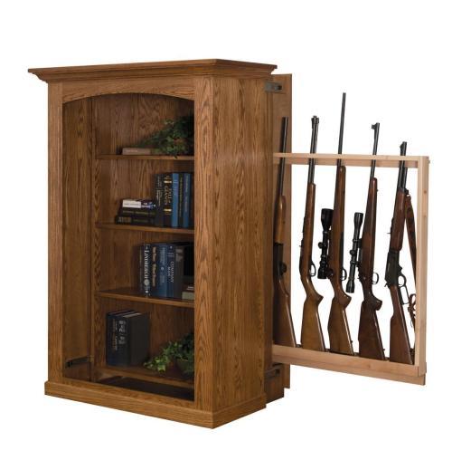 Medium Of Hidden Gun Cabinet