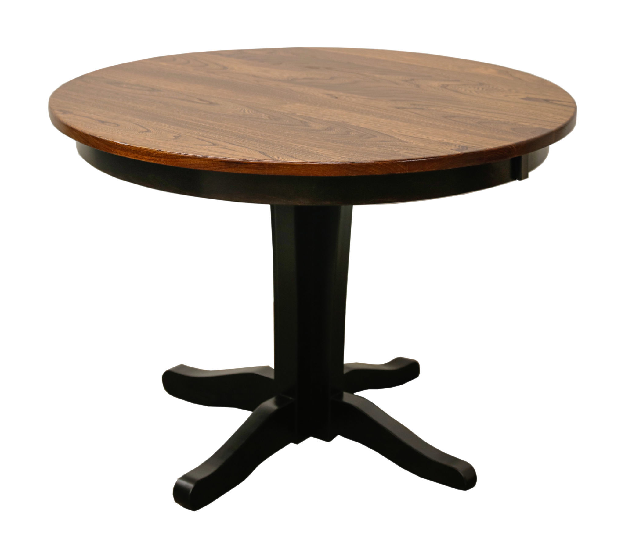 Glacier Single Pedestal Table Dutch Craft Furniture