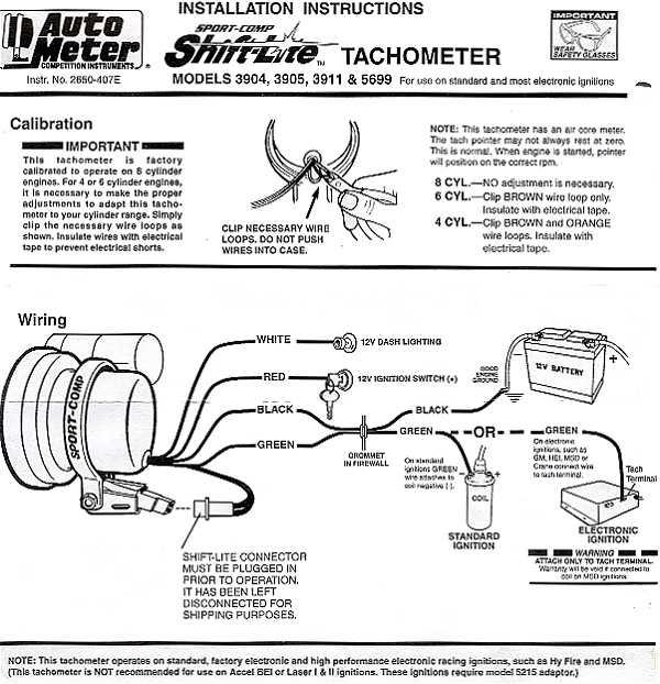 Auto Meter Wiring Diagram Schematic Diagram Electronic Schematic