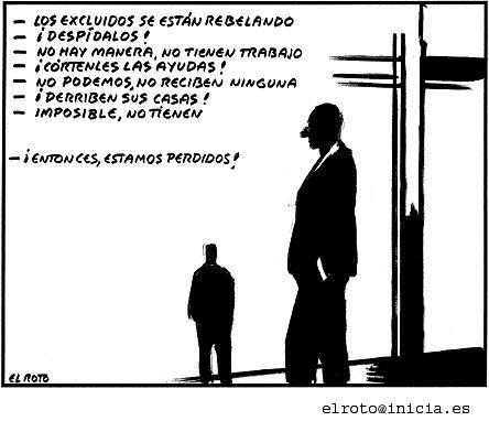 Cartoon by El Roto