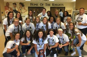 Oakleaf Softball State Champs