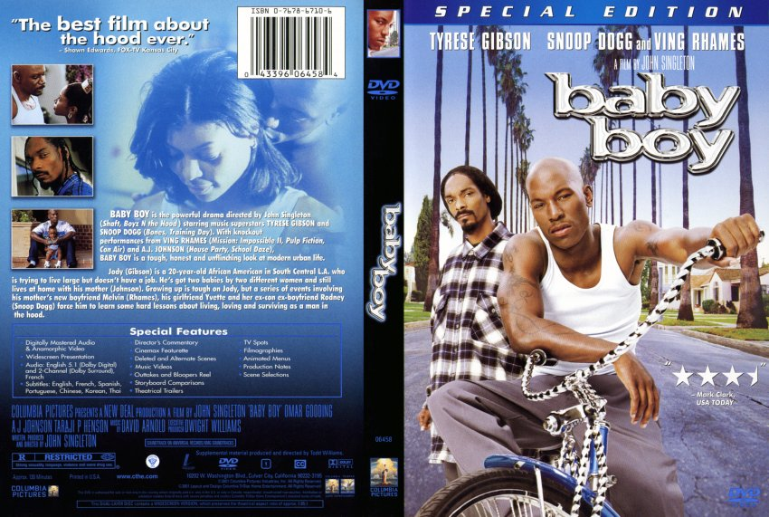 baby boy - Movie DVD Scanned Covers - 219Baby Boy  DVD Covers